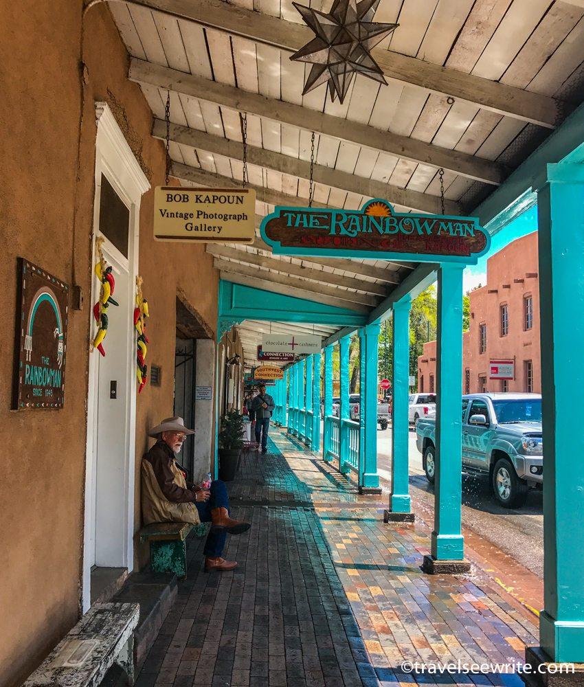 Downtown Art Galleries, Santa Fe, New Mexico