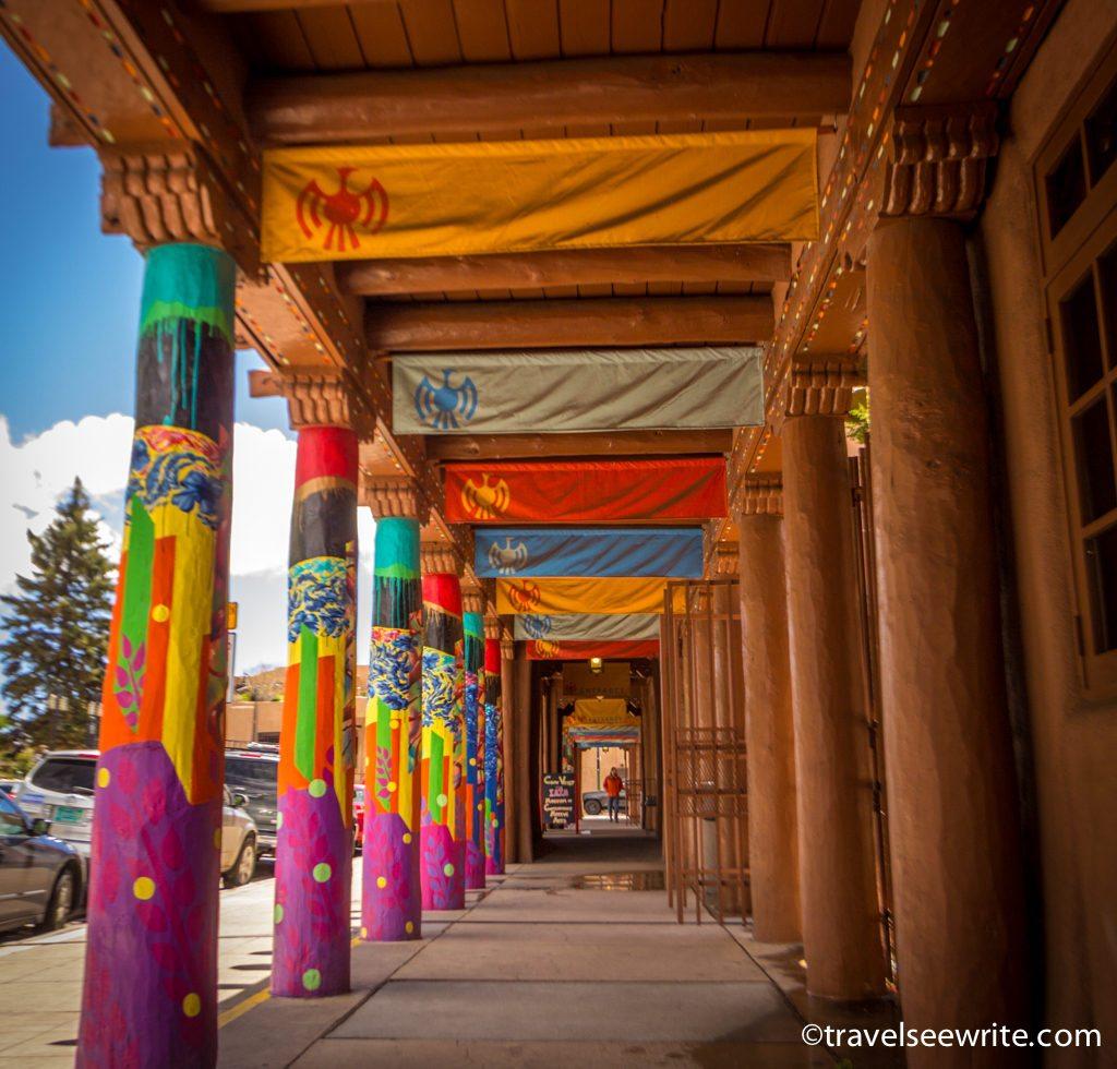 Plaza and Downtown, Santa Fe, New Mexico