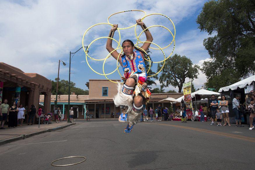 Santa Fe Annual Indian Market, New Mexico