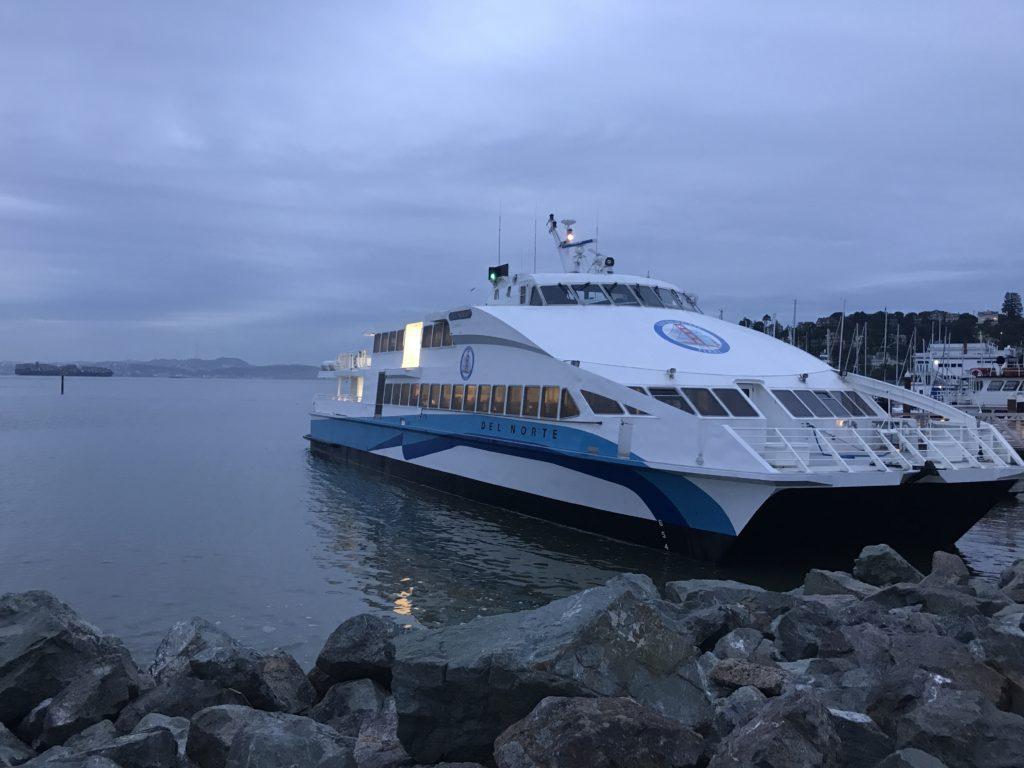 Ferry Terminal at Water's Edge Hotel, Tiburon