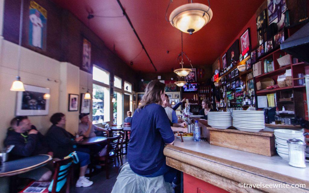 Mario's Cafe, North Beach, San Francisco