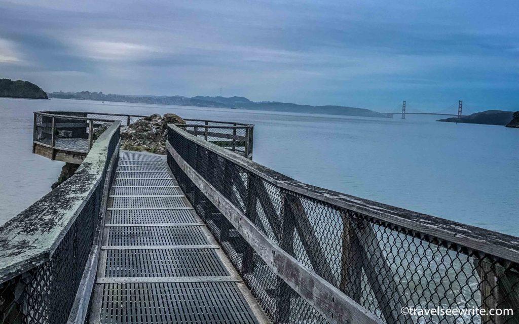San Francisco Bay view from Tiburon