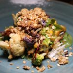 Roasted cauliflower salad at Prado Restaurant, Omni Scottsdale Resort & Spa