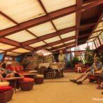 Taliesin West - Frank Lloyd Wright's living room