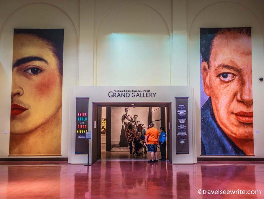 Frida Kahlo and Diego Rivera exhibit, Heard Museum, Phoenix, Arizona