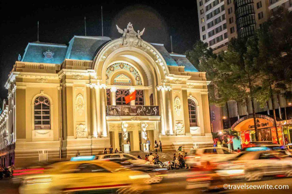 Opera house, Ho Chi Minh City, Vietnam