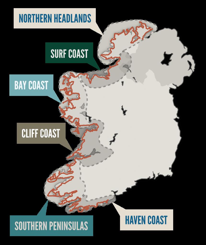 Wild Atlantic Way Regions