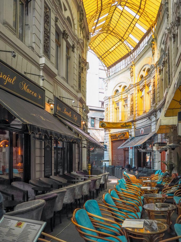 Bucharest Cafe. Pic CC: Julia Antonio