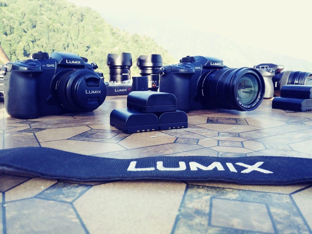 The mirrorless camera range of Panasonic Lumix