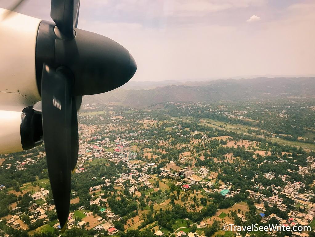 Delhi to Dharamshala flight