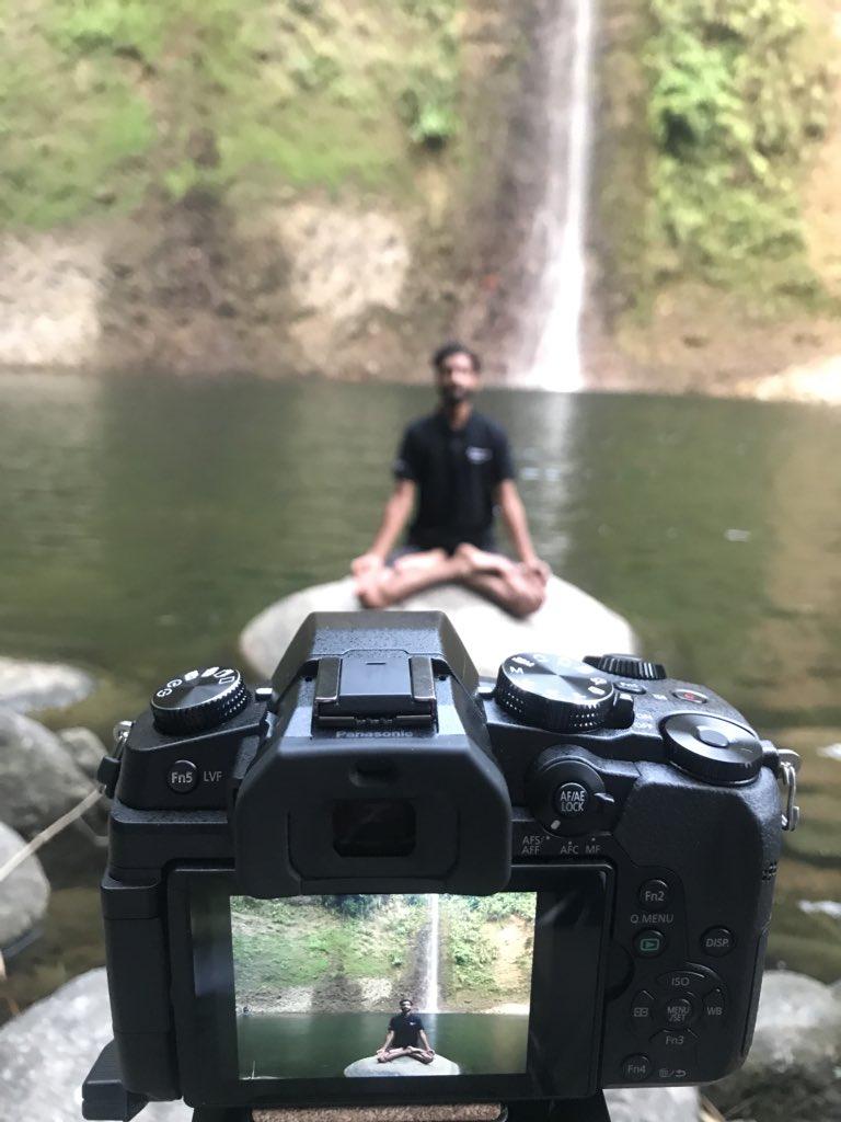 Adventure sports in India: waterfall chasing in Bir-Billing