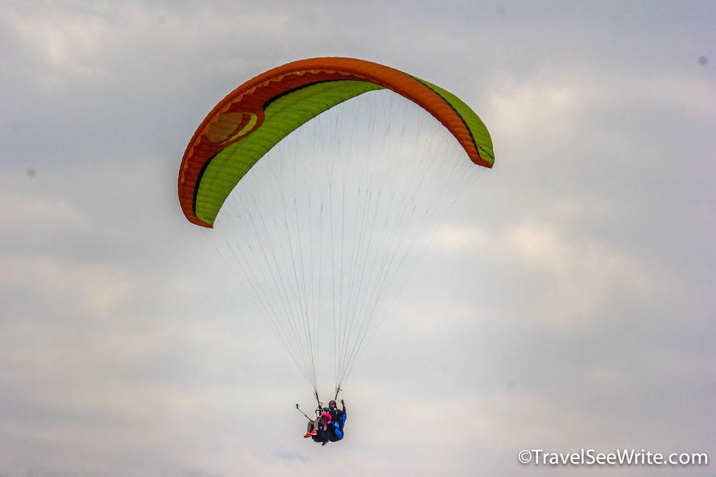 Paragliding at Bir-Billing with Panasonic Lumix Cameras