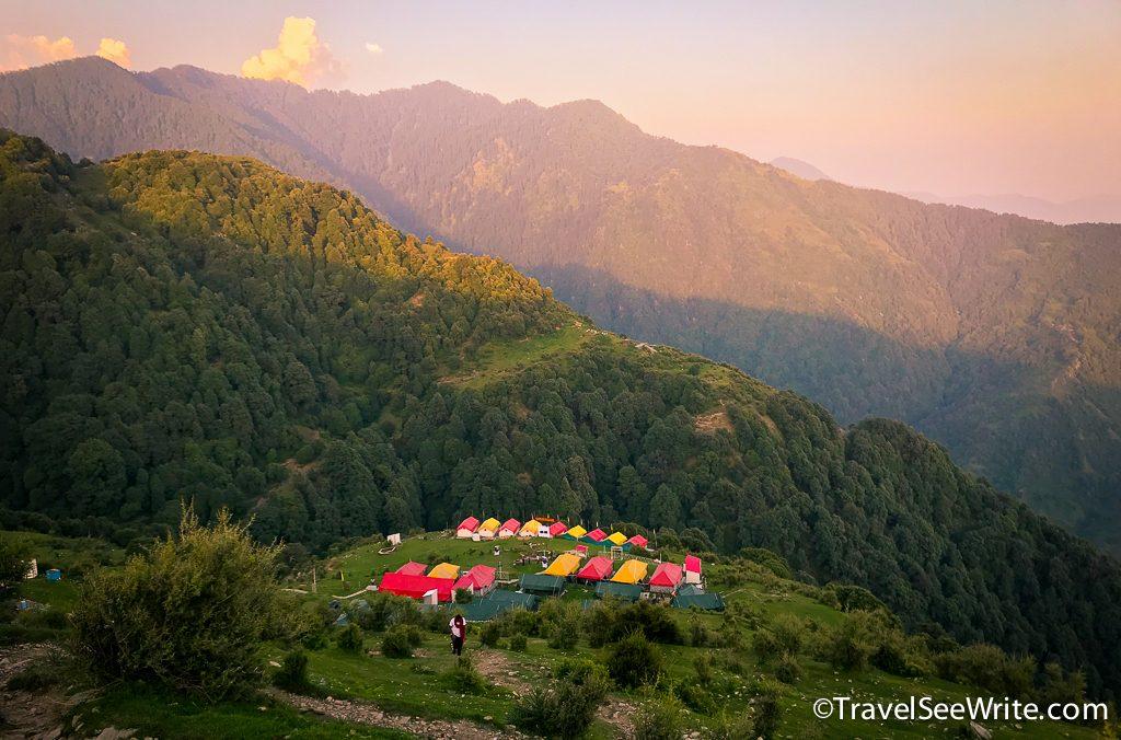 The Sky Village campsite, Billing, Himachal