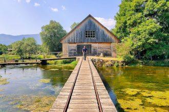 Majerovo Vrilo village, Gospic near Plitvice Lakes National Park Croatia