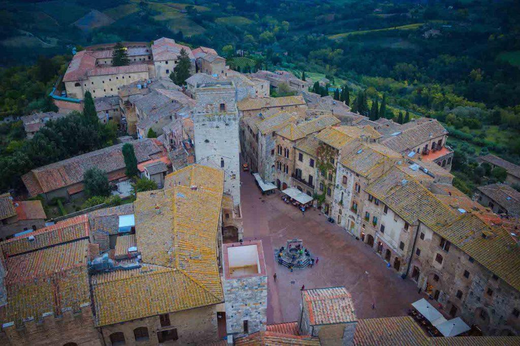 San Gimignano,Via Francigena Toscana, Italy