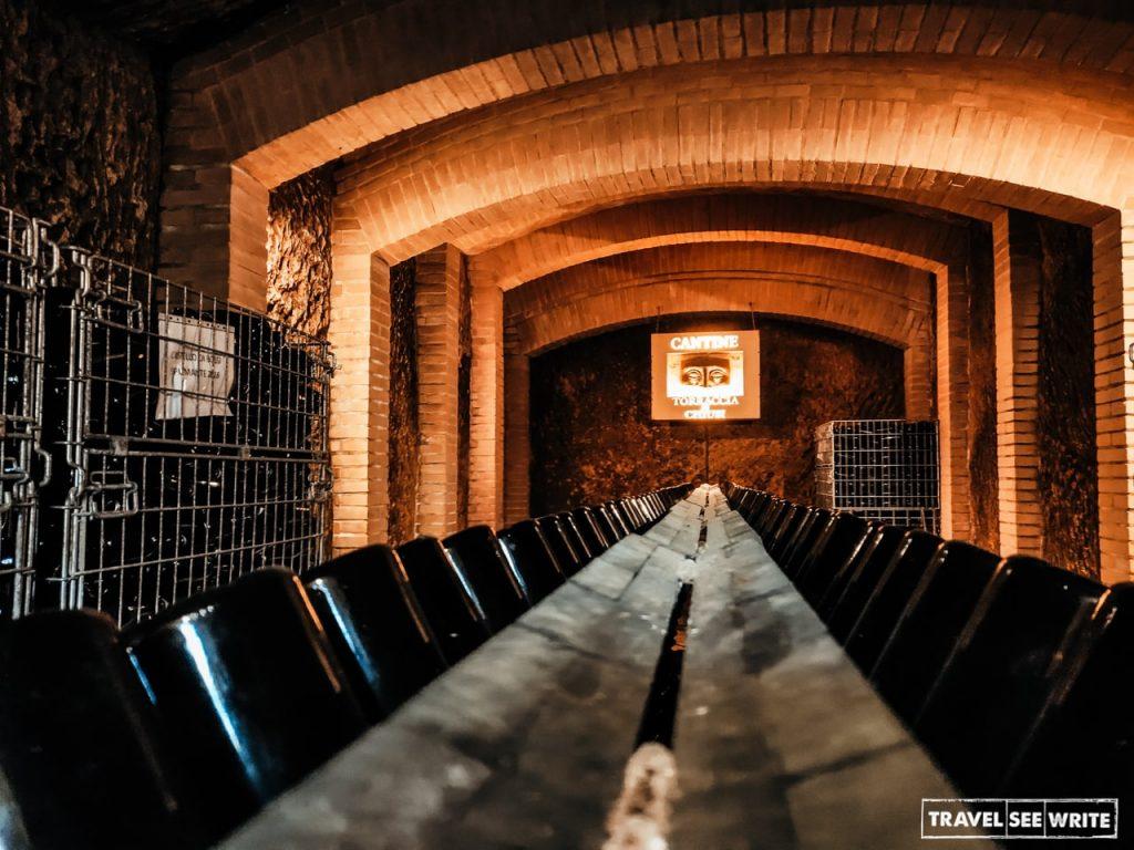 Torraccia di Chiusi wine cellar near San Gimignano,Via Francigena Toscana, Italy