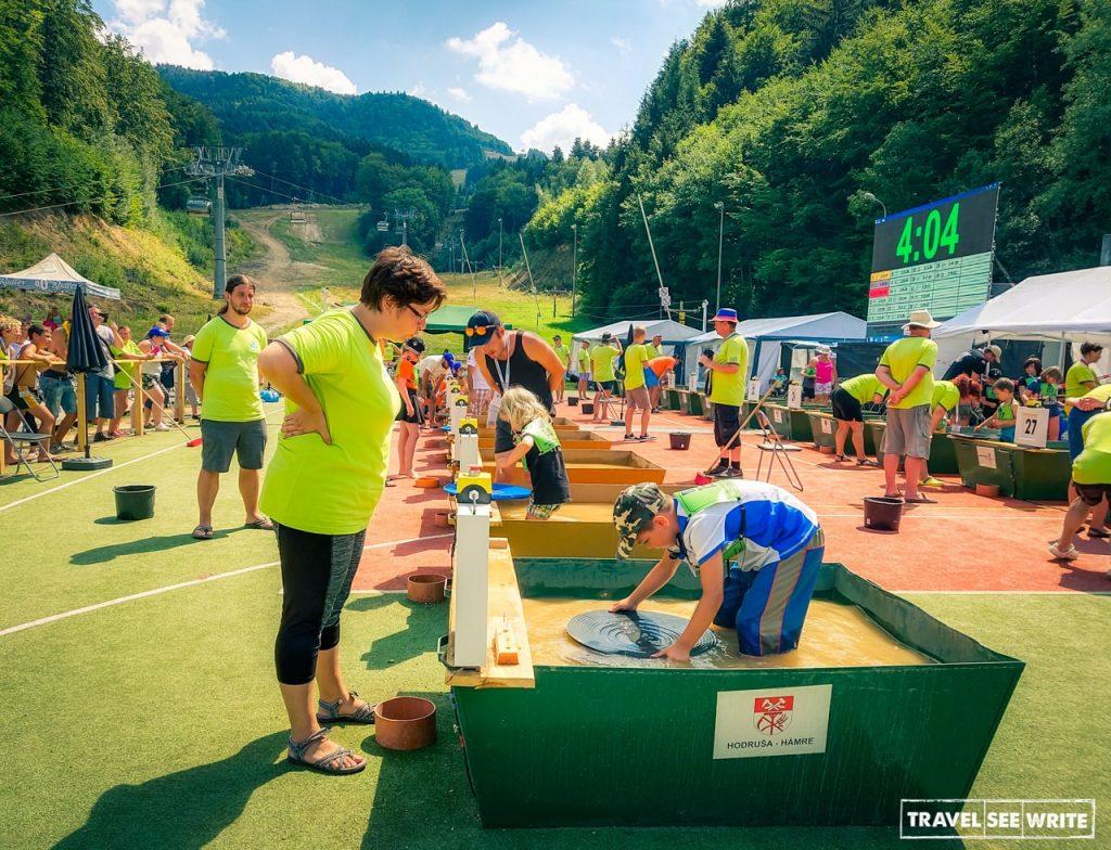 World Gold panning championship, Slovakia