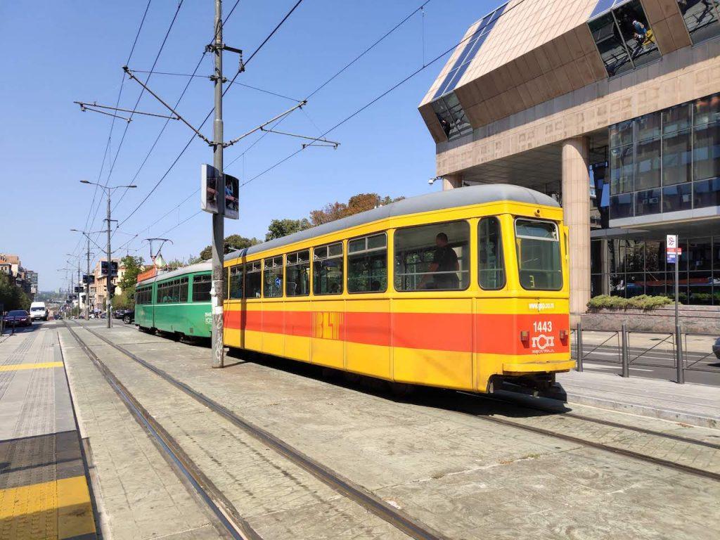Visit Belgrade, Serbia- Trams
