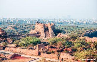 Tughlaqabad Fort ruins, Delhi, Incredible India