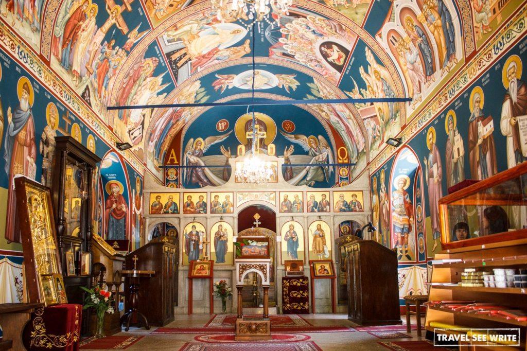 14th century Vratna Monastery, Serbia