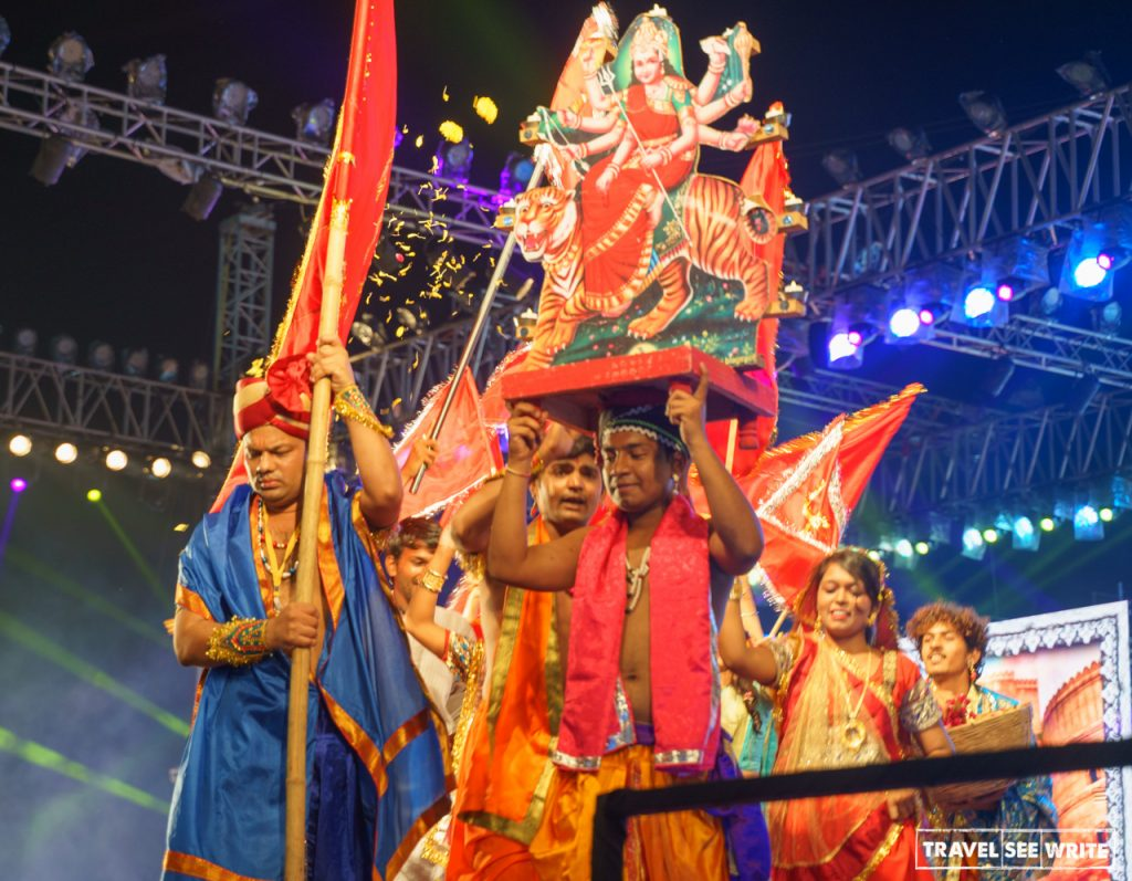 What happens during Navratri in Gujarat: Each night different form of Shakti is celebrated