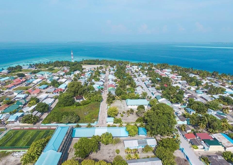 Meedhoo island in Maldives. Pic credits: Axxam Rafeeu