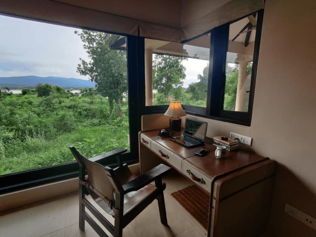 Work from Wilderness  in Bandhavgarh, Madhya Pradesh