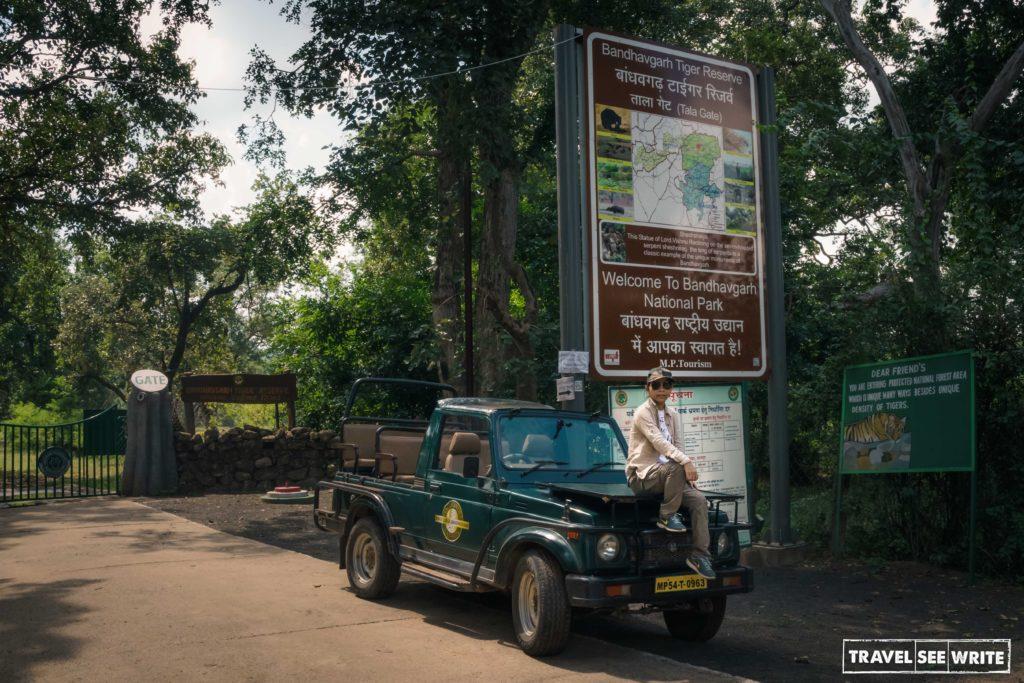 Tala Zone entry gate of Bandhavgarh National Park