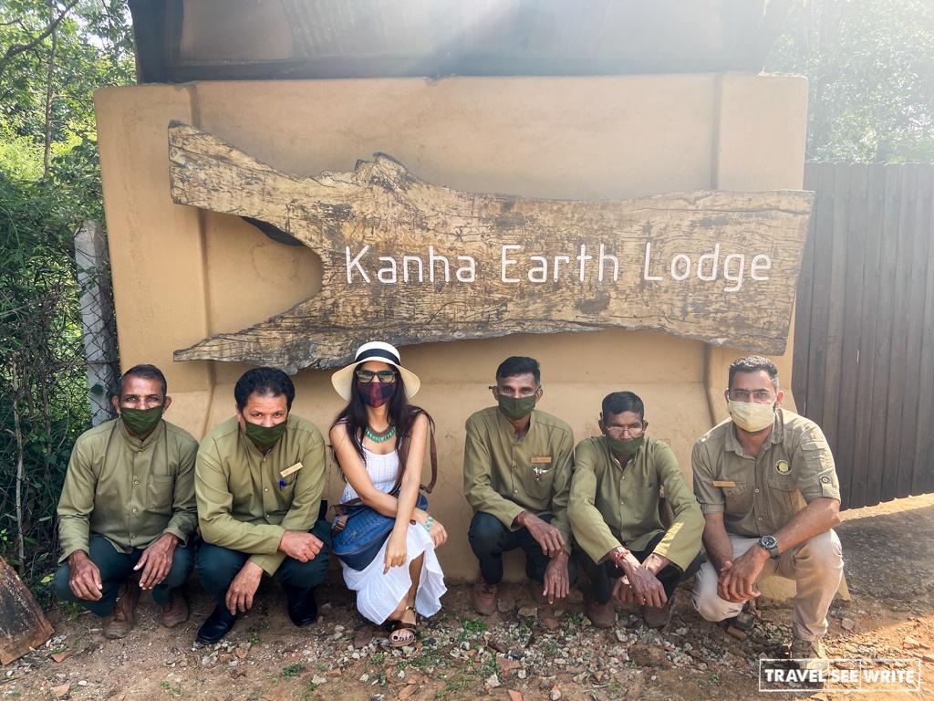 Stay at Kanha Earth Lodge
