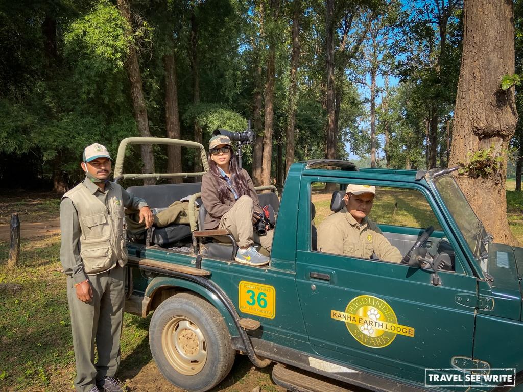 Jungle Safari in Kanha National Park
