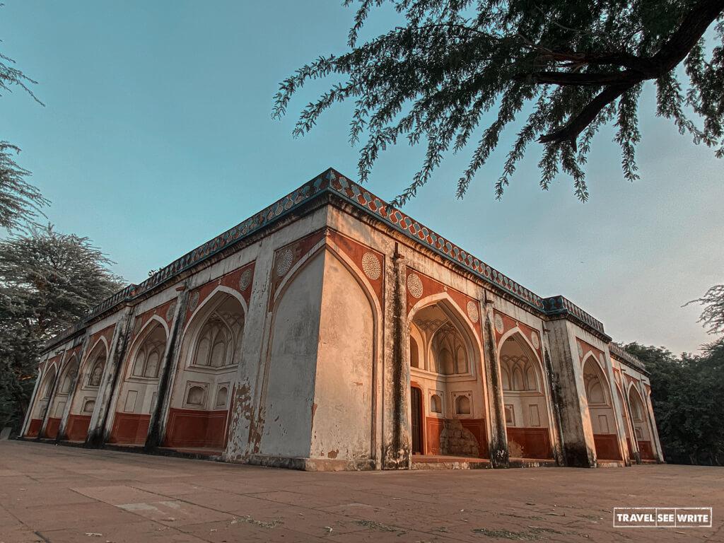 Mirza Muzaffar Hussain's Tomb at Sunder Nursery, Delhi