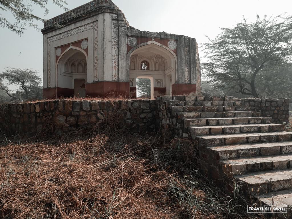 Bateshwala Mahal, Sunder Nursery, Delhi