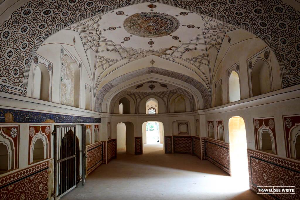 Agha Khan Trust started the ten years of extensive restoration work of Sunder Nursery, Delhi