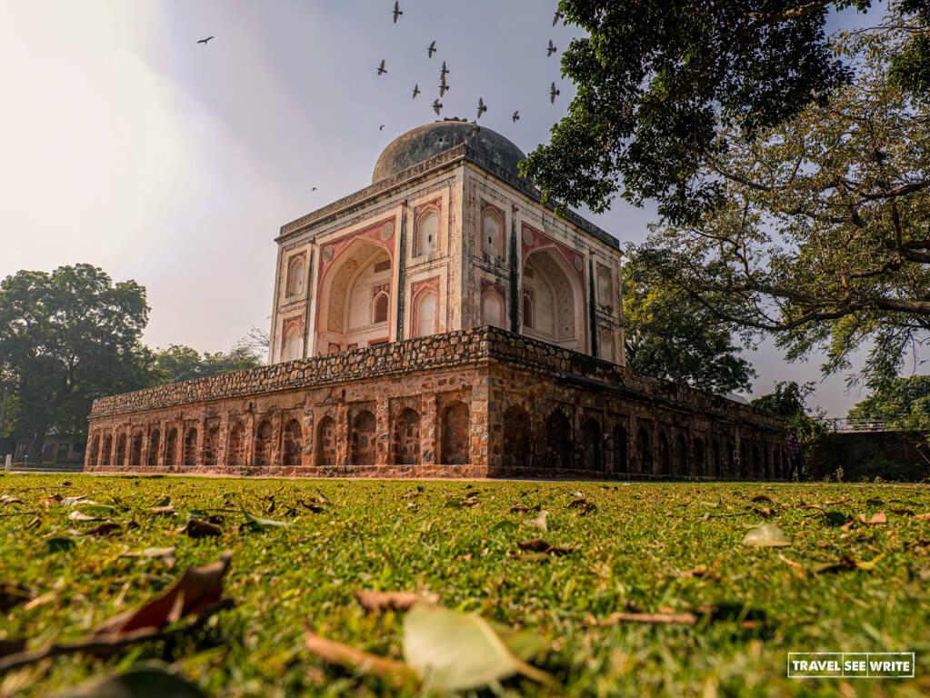 Lakkarwala Burj, is another UNESCO World Heritage Site at Sunder Nursery, Delhi