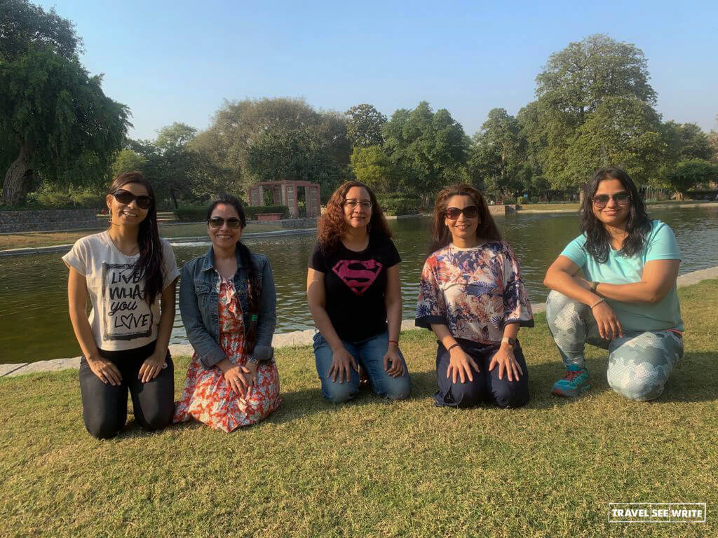 The sprawling gardens of Sunder Nursery are perfect for picnics in Delhi
