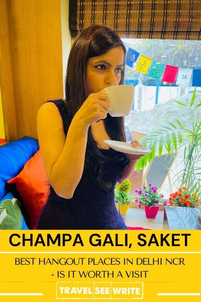 Best hangout places in Delhi, NCR - Is Champa Gali, Delhi worth a visit?