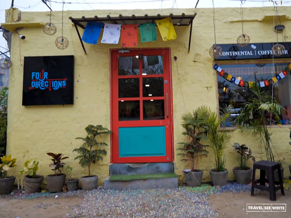 Four Directions restaurant in Champa Gali, Saket, Delhi