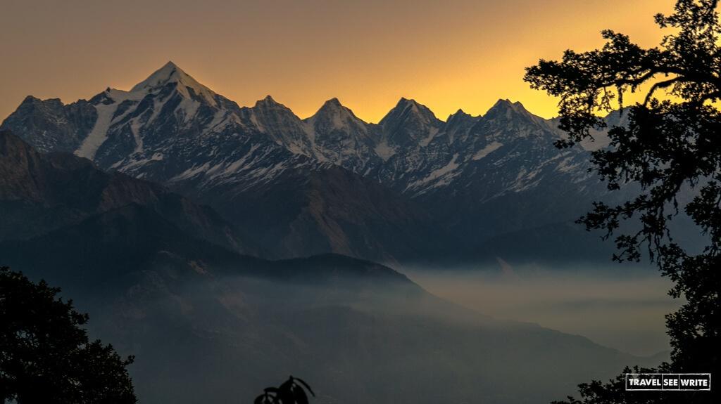 The mountains of munsiyari, Uttarakhand, India